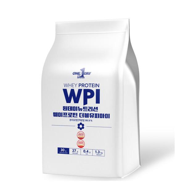단백질 보충제 프로틴 분리유청 분말 쉐이크 WPI 1.3kg 상품이미지