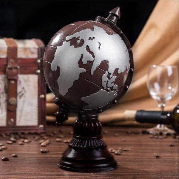 클래식 지구본 저금통(와인) 상품이미지