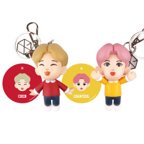 EXO FIGURE KEYRING PHOTO CARD / Hand mirror giveaway