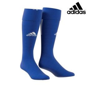 아디다스 산토스18 축구양말 축구 스타킹 용품 블루