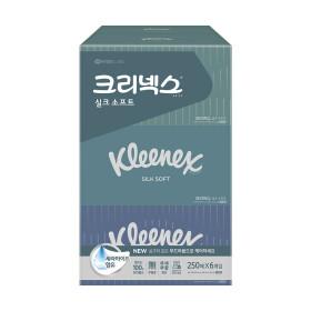 디럭스X신수성작가 미용티슈 250매6개/휴지