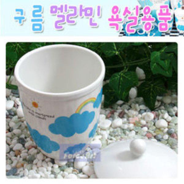 구름 면봉함/양치컵 욕실용품 소품 세면용품 상품이미지