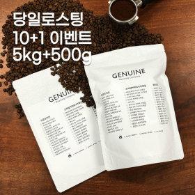베트남 로부스타G1 1kg원두커피/5kg+500g/10+1이벤트