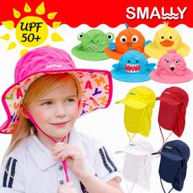 Kids Children UV Blocking Swimming Cap Flap Cap Summer Camping Hat