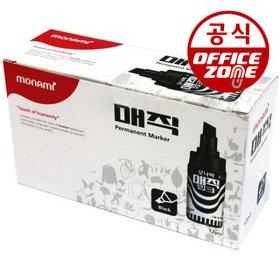 모나미 병매직 흑색(1갑)ㅣ유성펜 마커 마카 필기용품