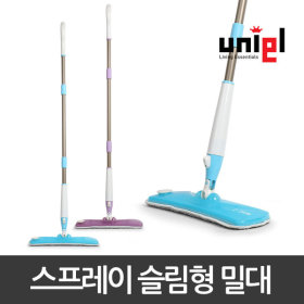유니엘 무선 물걸레청소기 밀대 걸레 /슬림형 1세트