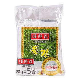 대천김_대천김돌김_100G 20Gx5봉
