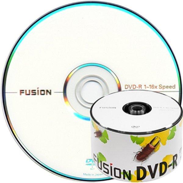 퓨전 DVD-R 16배속 4.7GB 공DVD (벌크50장) 상품이미지