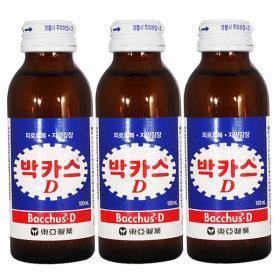 박카스D 100ml x 100병 / 드링크 병음료