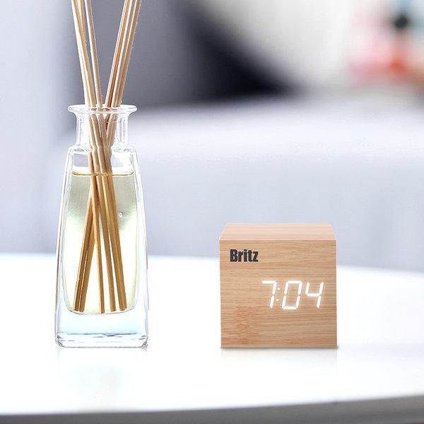 BZ-EW01 우드 LED 시계 알람 날짜 온도 상품이미지