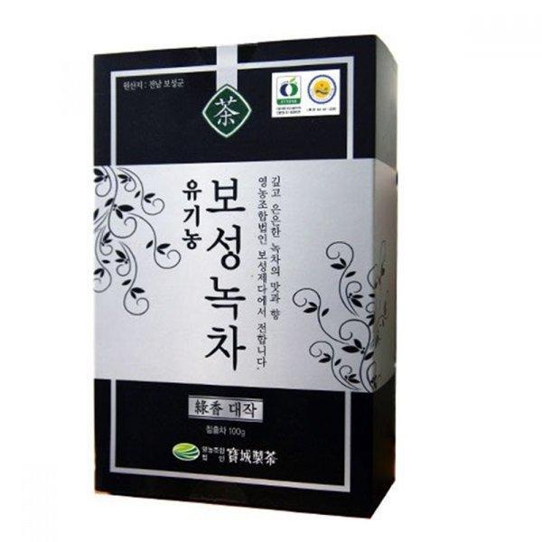 유기농 보성녹차(녹향 대작) 100g 잎녹차 보성녹차 상품이미지