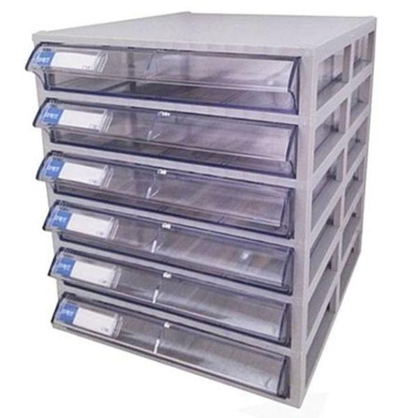 국제 다용도 수납함 6단 CM603 미니서랍장 플라스틱 상품이미지