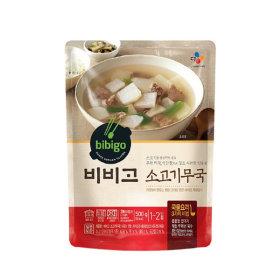 비비고 소고기 무국 500g 5봉+2봉추가증정/10%쿠폰
