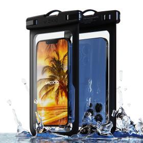 1+1 IPX-8등급 핸드폰 휴대폰 방수팩 P1 블랙