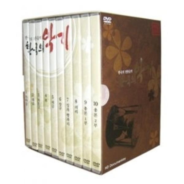 한국의 전통음악 - 한국의 악기 DVD 상품이미지