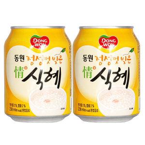 [동원에프앤비]동원 정식혜 238ml x 24캔 / 식혜캔