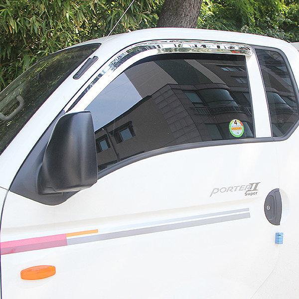 포터2 크롬 썬바이저 멀티 2P 썬바이져 몰딩 2004-현재 상품이미지