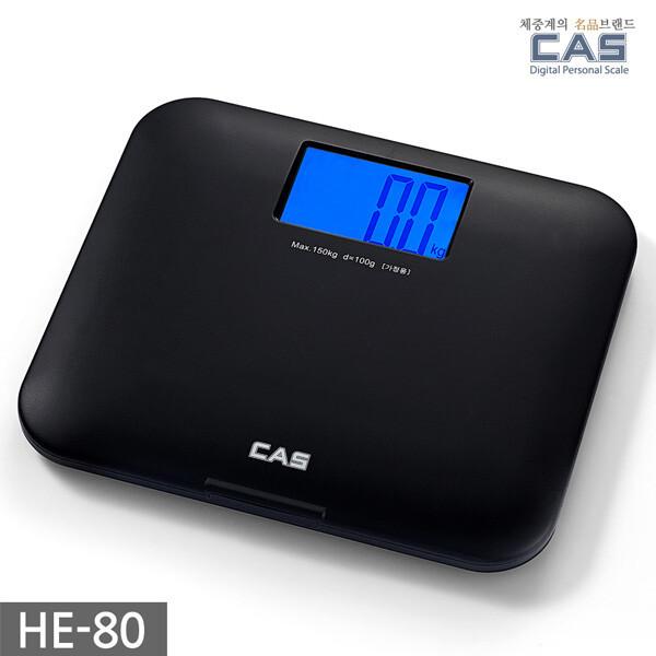 (현대Hmall)카스(CAS) 블루아이 디지털 체중계 HE-80 상품이미지