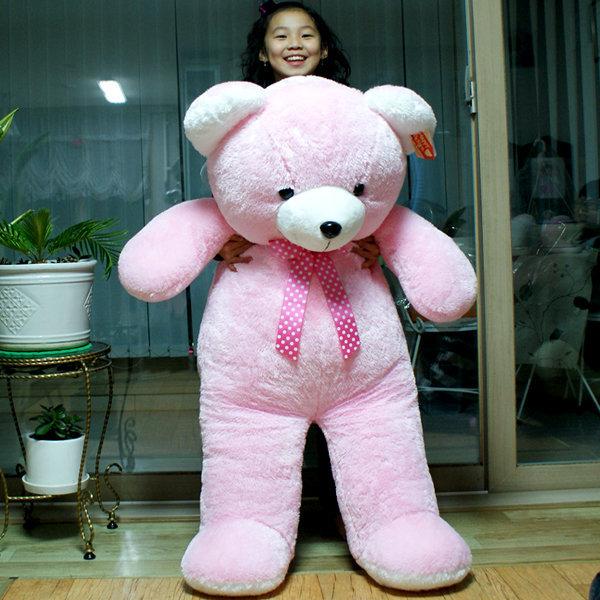 핑크베어 킹125cm 초대형 곰인형 몽e 나혼자산다 윌슨 상품이미지