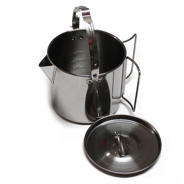 캠핑주전자 1.2리터 커피포트 백패킹 스텐 물 라면 상품이미지