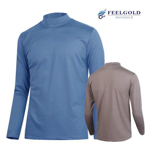 (현대Hmall) 필골드  PT141 UNIX 스판 반 폴라 티셔츠 상품이미지
