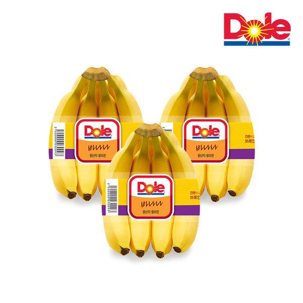(Dole 본사직영) 바나나 3.9kg 3송이 상품이미지