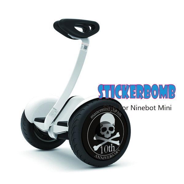 샤오미 나인봇 미니 바퀴휠 스티커 3번(좌우1쌍) 상품이미지