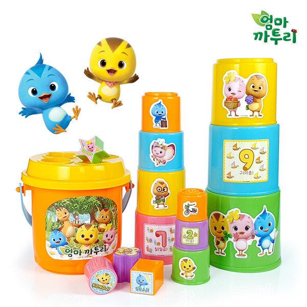 콩순이 컵쌓기/모래놀이 목욕 물놀이 유아장난감 아기 상품이미지
