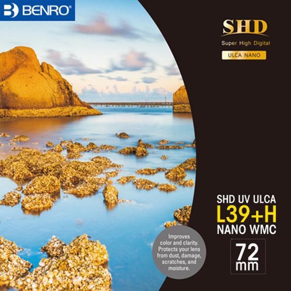 -벤로 정품 필터 SHD UV L39+H ULCA WMC 72mm 상품이미지