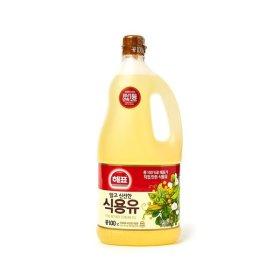 해표 식용유 콩기름 콩식용유 대두유 카놀라유 1.8L