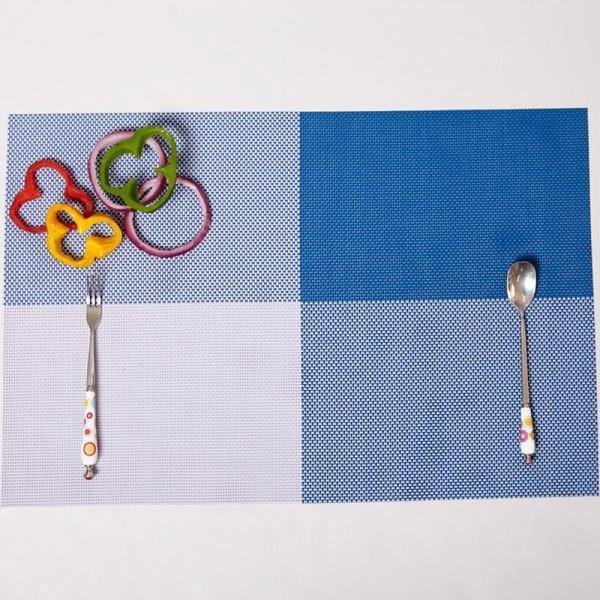 ABM(C) 고방 체크 식탁매트 블루 상품이미지