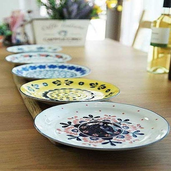 다용도로 확용하는 일본 폴라니아 접시 5P세트 상품이미지