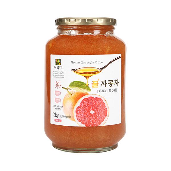 씨밀레 유자/자몽/레몬/자몽100%/청귤/허니진저티 상품이미지