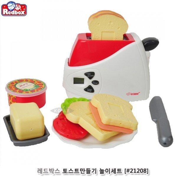 레드박스 토스트만들기세트 소꿉놀이 주방놀이 상품이미지