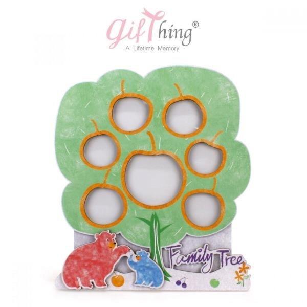 Gifthing 행복해지는 아기 돌잔치 액자 (사과나무) 상품이미지