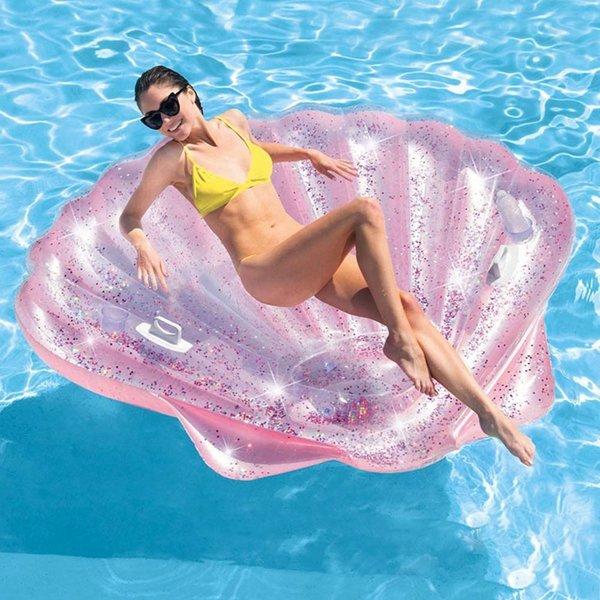 인텍스 조가비 대형 튜브(핑크) 상품이미지