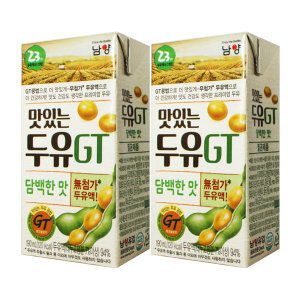 [맛있는두유GT]GT맛있는두유 담백한맛 190ml x 32팩 / 팩두유
