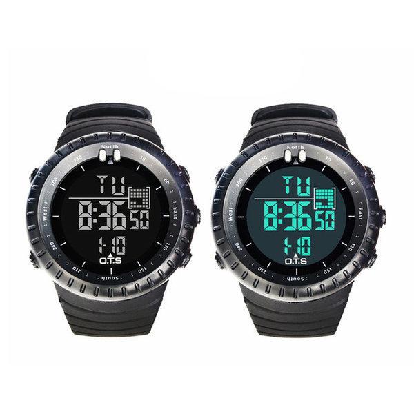 전자 시계 OTS 순토 군인 학생 손목 방수 디지털 패션 상품이미지