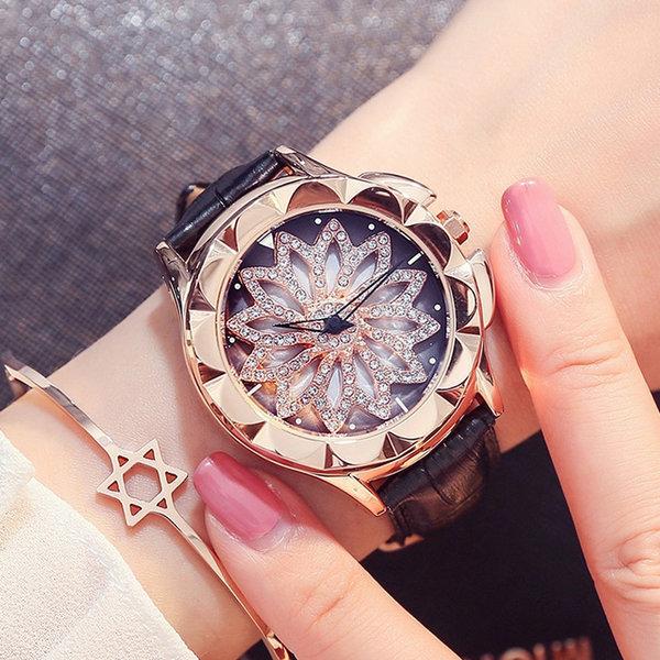 시계 워치 여성 패션 메탈 전자 선물 (A 스타일) 상품이미지