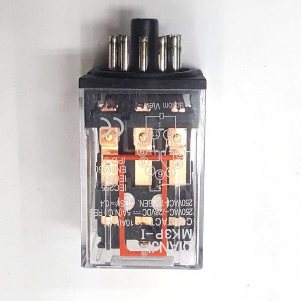 11핀릴레이  MK3P 전기기능사 220v11핀릴레이 상품이미지