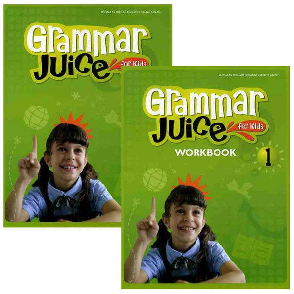 Grammar Juice for Kids 1단계 (S+w) / 전2권세트 상품이미지