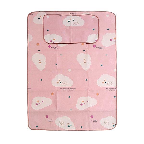 포리온 구름송이 침대 패드세트(핑크) (120x195cm) 상품이미지