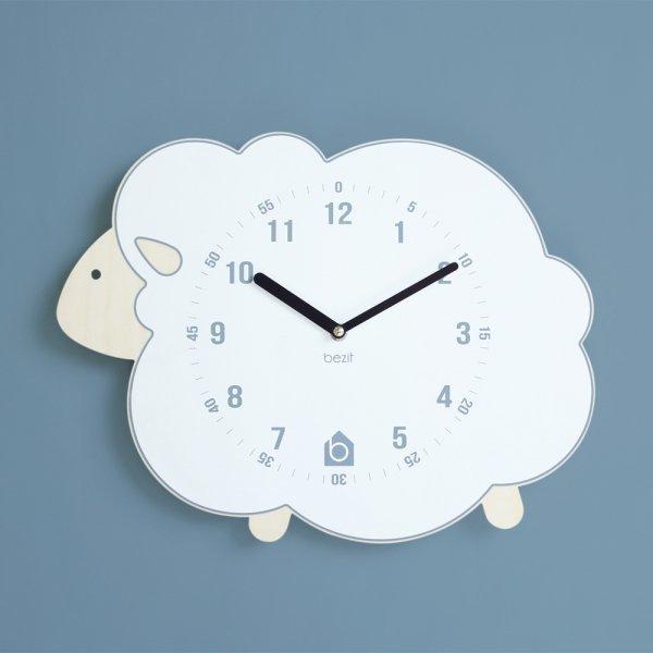 BEZIT  WHITE LAMB Wall Clock(무소음 벽시계) 상품이미지