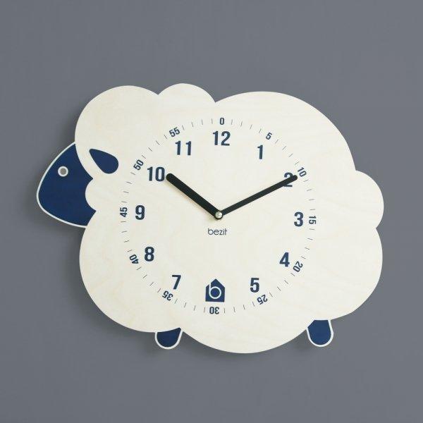 BEZIT  BLUE LAMB Wall Clock(무소음 벽시계) 상품이미지