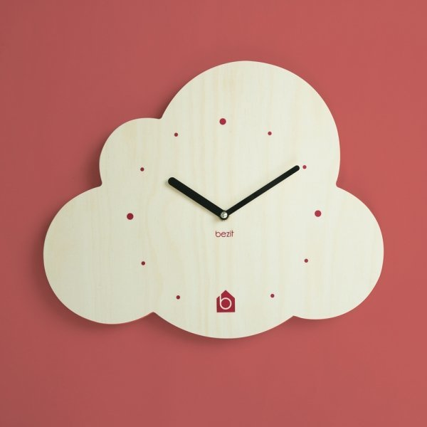 BEZIT  CLOUD Wall Clock(무소음 벽시계) 상품이미지