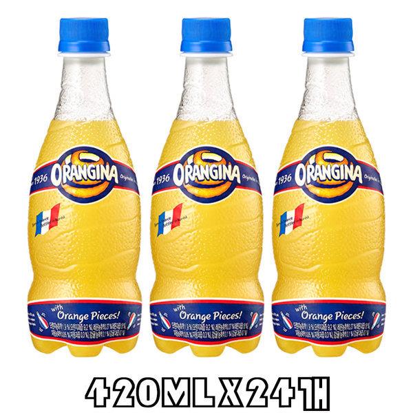 오랑지나420mlX20펫/탄산음료/음료/음료수 상품이미지
