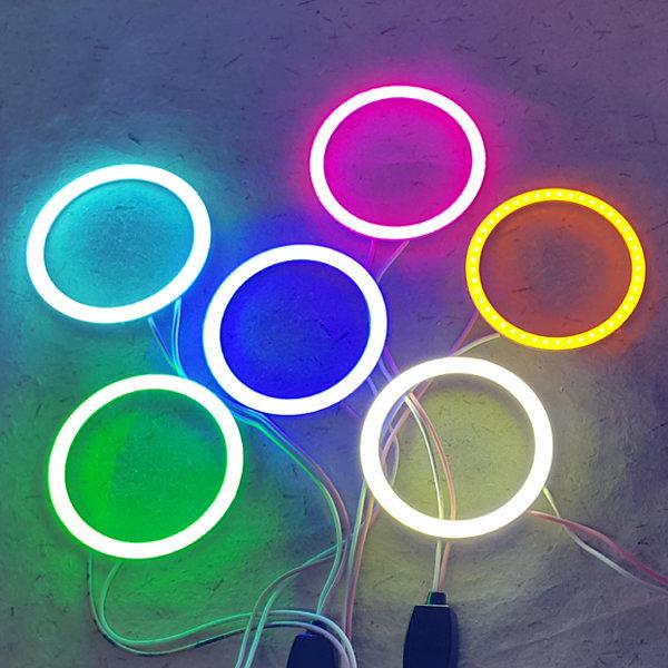원LED 써클LED LED튜닝 써클아이 LED 면발광LED 상품이미지
