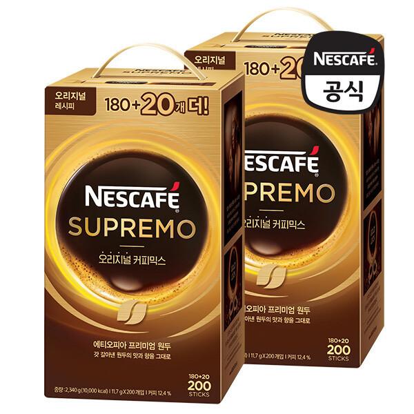 (현대Hmall)네스카페 수프리모 커피믹스 400T 상품이미지