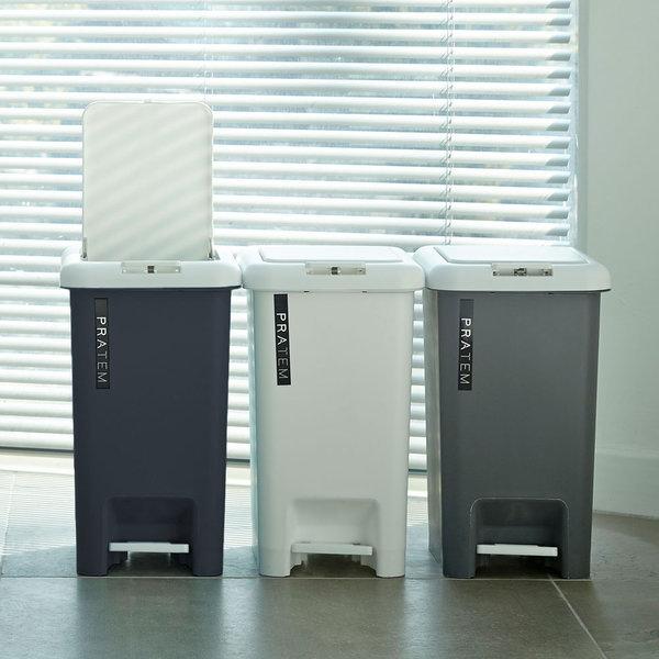 프라템 페달 휴지통 20L 분리수거함 쓰레기통 상품이미지