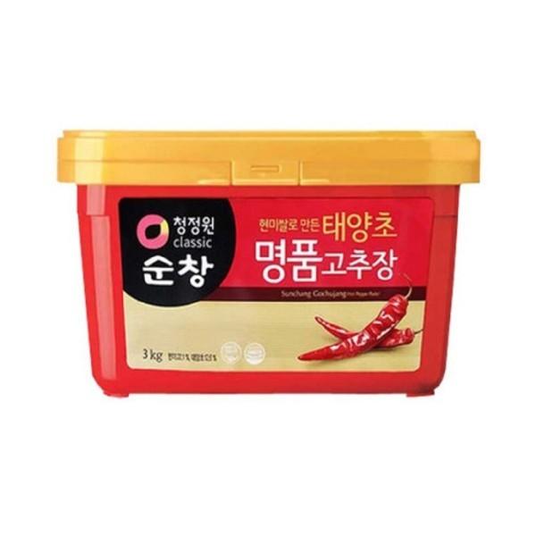 청정원 순창 현미쌀로만든 태양초 명품 고추장3kg 상품이미지